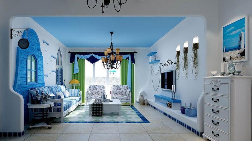 地中海风格设计元素和装修注意事项
